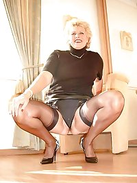 Older ladies surprise at home 5