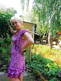 A russian granny Marina.