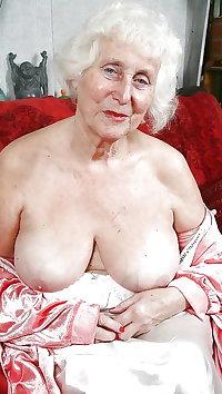 Gran granny mature milf tits 2