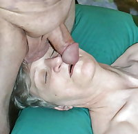 Grandma love suck