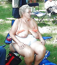 BBW matures and grannies at the beach (23)