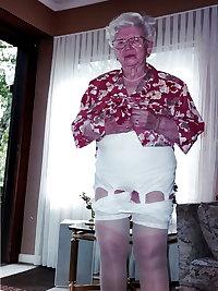 Sexy granny underwear.
