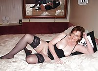 Alluring Granny! - GILF On The Bed