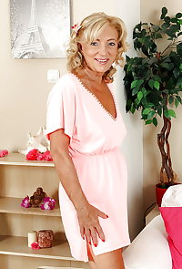 Grannies pretty pink dress