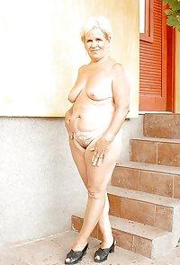 Grandma her saggy tits 5.