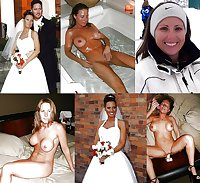 Exposed Slut Wives - Before and After 190