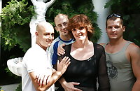 Mature mother gangbanged by several not her Sons PART 1