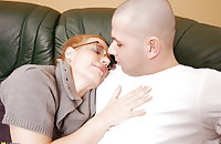 Mature mother fucks her young boy lover PART 1
