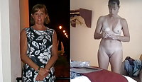 Exposed Slut Wives - Before and After 306