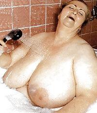 Fat Grannies Posing