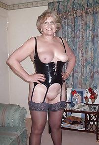 Horny grannies in stockings 01