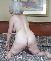 bbw granny ass