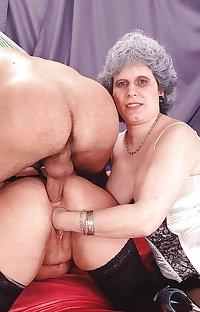 Matures and Grannies Having XXX Fun - 2