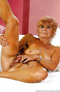 Posing grannies