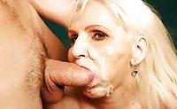 Grannies blowjob mix 2