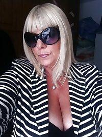 Cleavage granny Cute Women